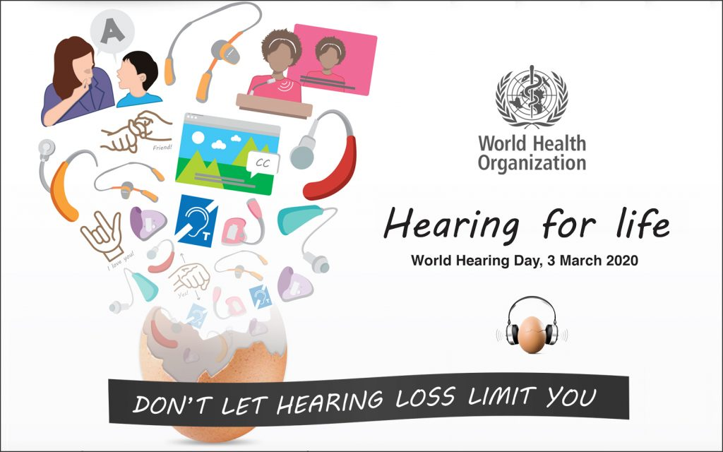 The World Hearing Day 2020 official logo