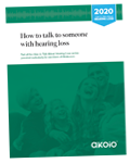 Small PDF Report Cover for How to Talk to Your Someone With Hearing Loss