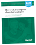 Small PDF Report Cover for How to Talk to Your Parent About Their Hearing Loss