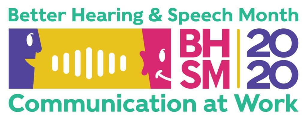 2020 Better Hearing and Speech Banner