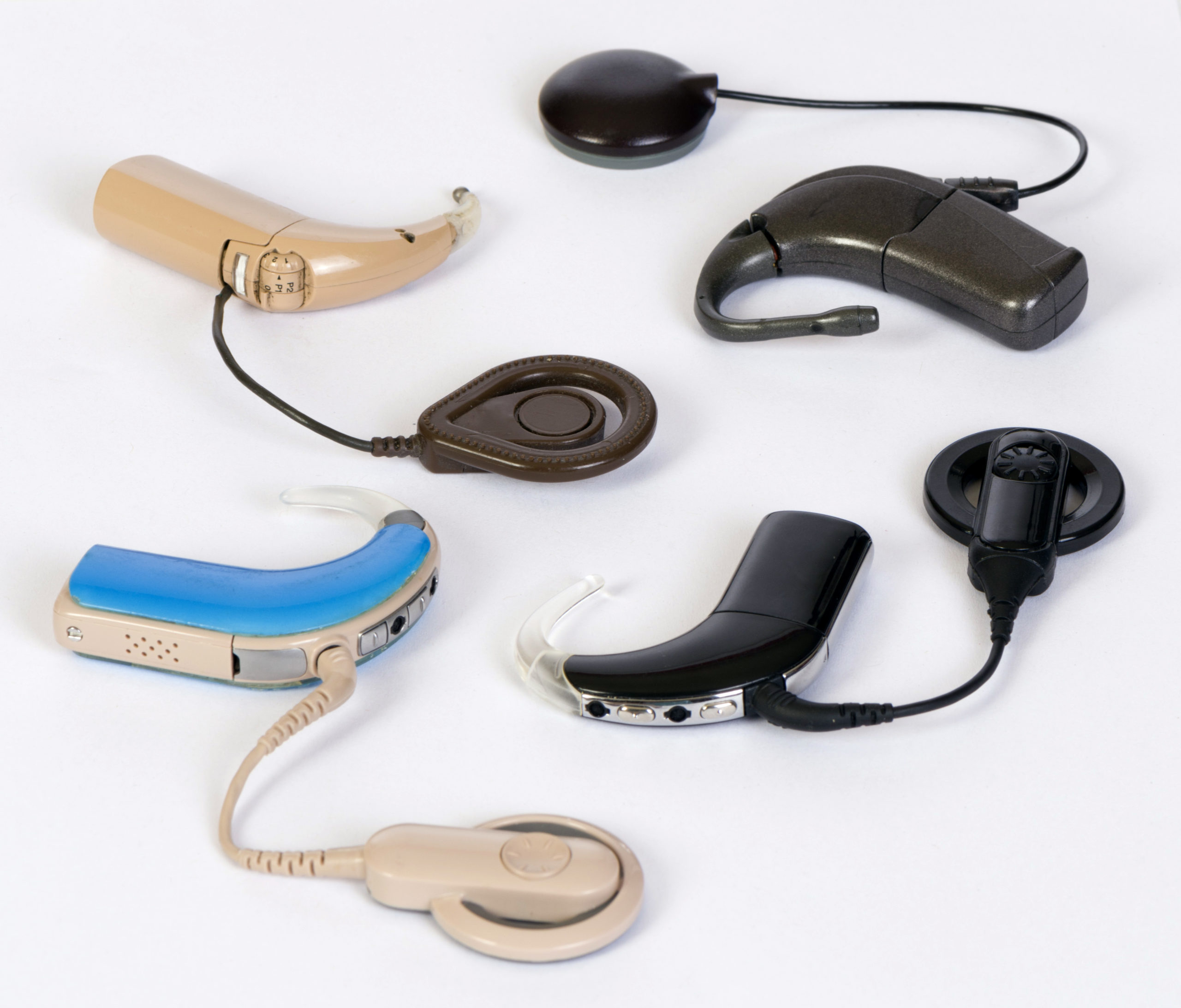 Different Cochlear implant divices