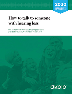 How to talk to someone with hearing loss