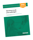 Rotated image of Questions to ask your audiologist guide 2021